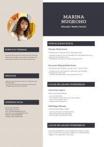Contoh Daftar Riwayat Hidup 5