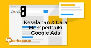 Kesalahan & Cara Memperbaiki Google Ads