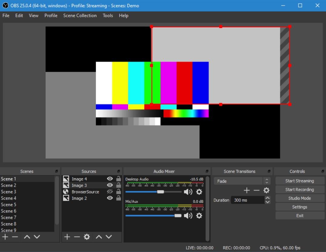 Open Broadcaster Software Aplikasi Perekam Layar PC