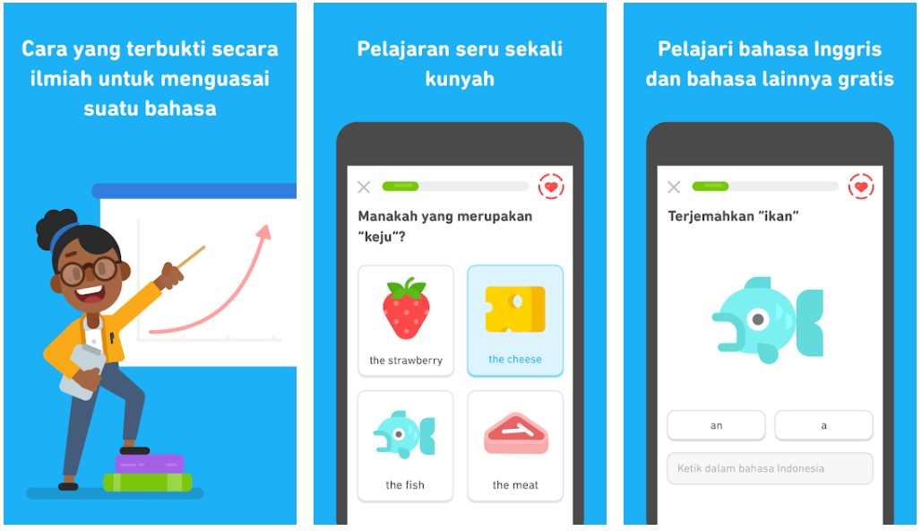 Duolingo Game Edukasi Anak yang Bisa Dimainkan