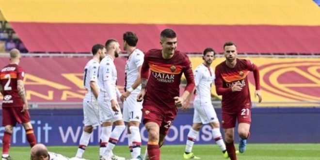 Hasil AS Roma Vs Genoa