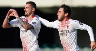 Hasil Verona Vs Milan