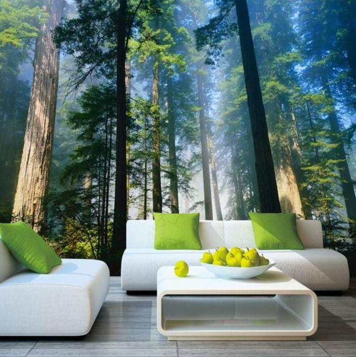 Desain Wallpaper Hutan