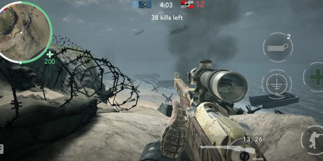 Game Perang Android World War Heroes