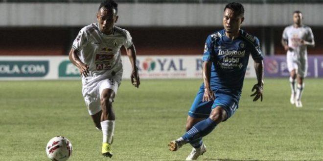 Hasil Semifinal Piala Menpora Leg I Persib Unggul 2-1 Atas PSS