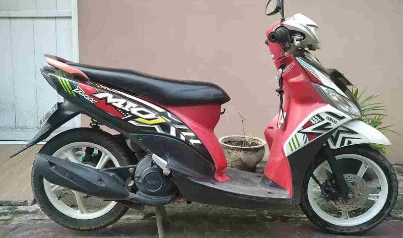 motor bekas Rp 5 jutaan - Mio J