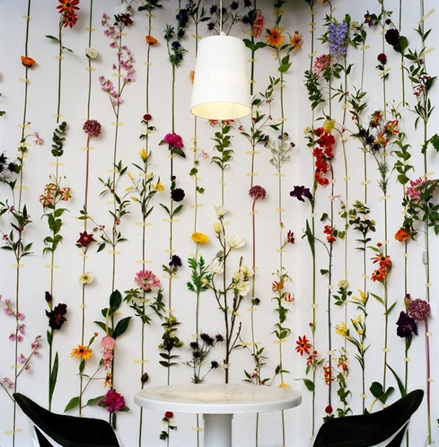Hiasan Dinding Bentuk Bunga