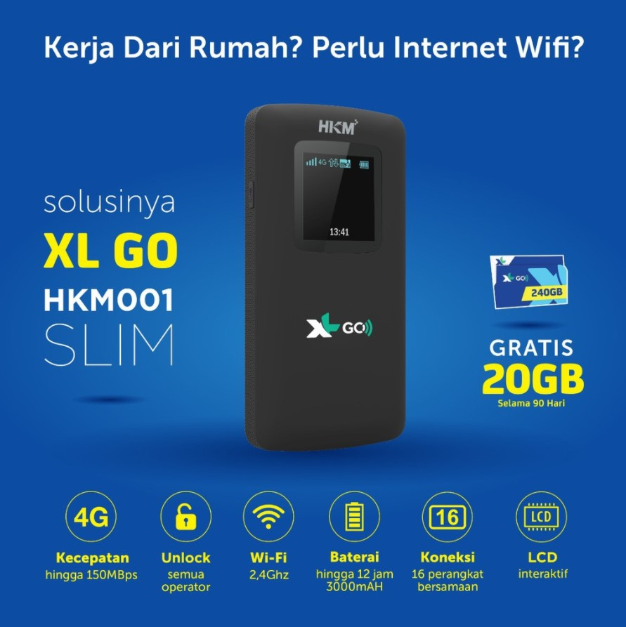 MiFi 4G HKM 001