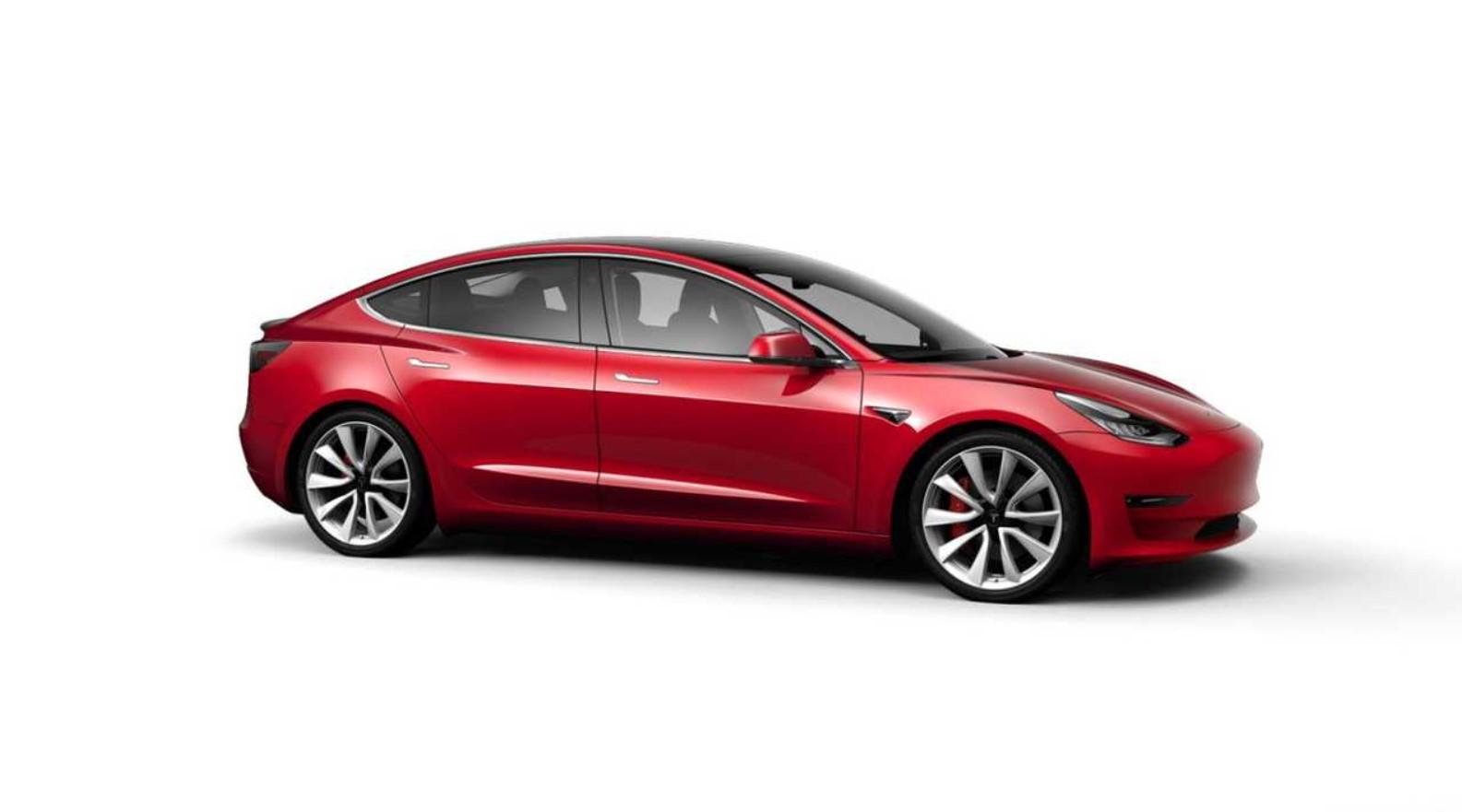 Tesla Model 3 Mobil Listrik