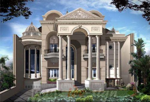 Desain Rumah Mewah Mediterania Terbaru 2021