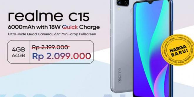 Kelebihan dan Kekurangan Realme C15