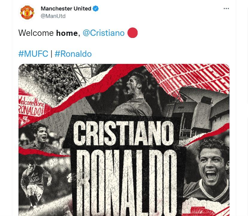 Ronaldo Kembali Ke MU