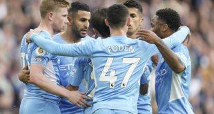 Hasil Pertandingan Man City vs Burnley